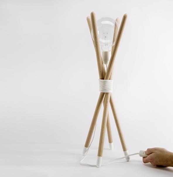 Lámpara denoe
