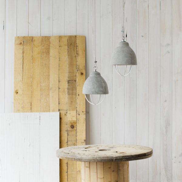 Yolan - lámpara de cemento