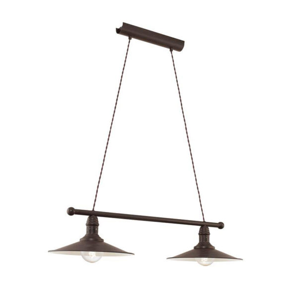 Compter – colgante industrial de acero envejecido