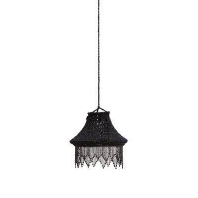 Francine - lámpara colgante con pantalla de crochet