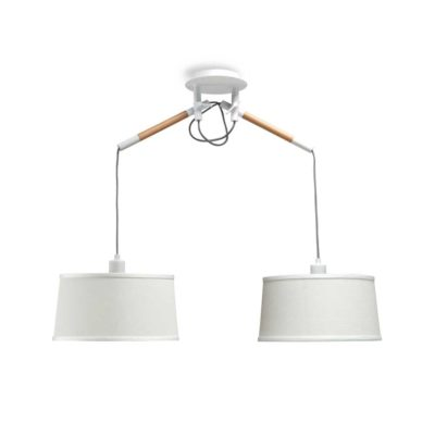 Colgante nórdica - dos luces