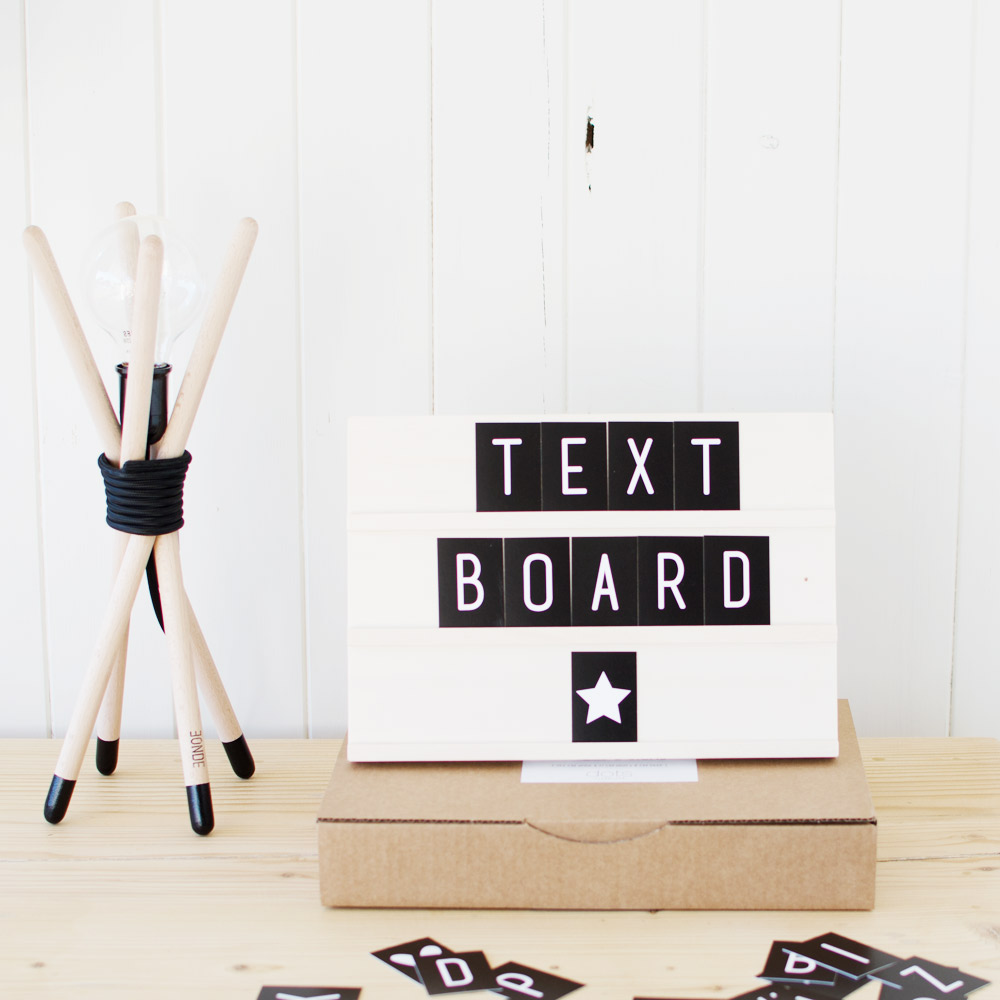 text board