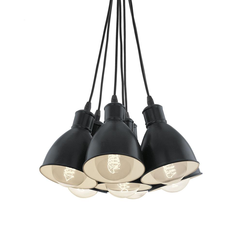 Racimo l mpara con 7 piezas combinadas - Piezas para lamparas ...