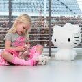 Hello White – lámpara de Hello Kitty