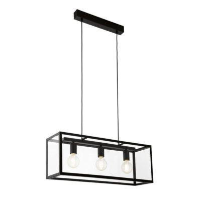 Terrario – 3 luces en caja de cristal