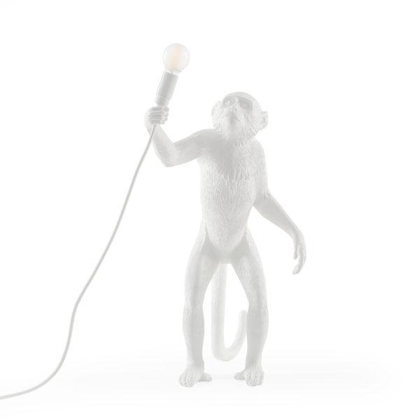 Lámpara de pie simio