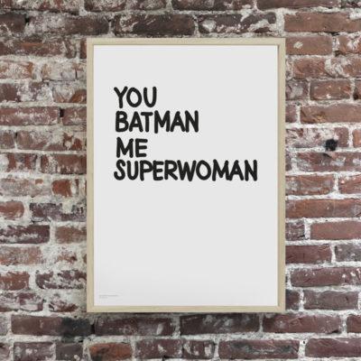 Lámina - You batman