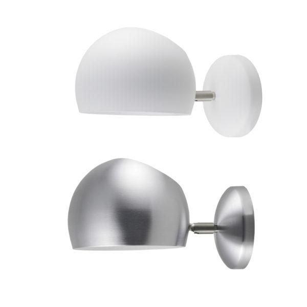 Aplique Bom - blanco mate o aluminio