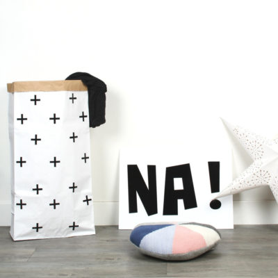 Bolsa de papel plus - negro