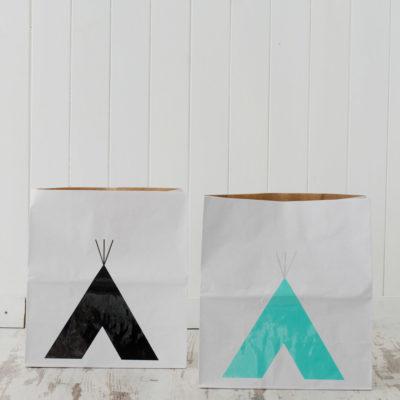 Bolsa de papel tipi - S