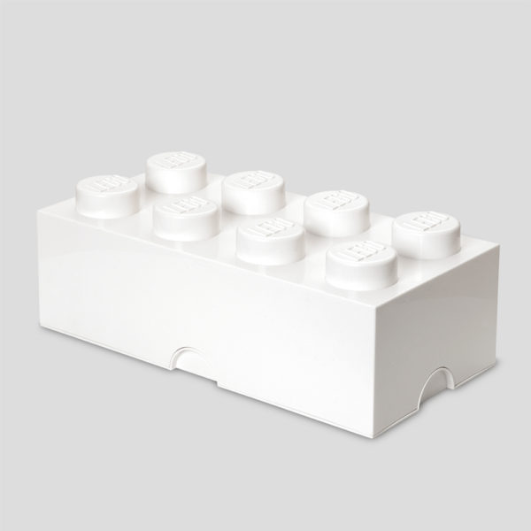 Lego Pieza grande – blanco