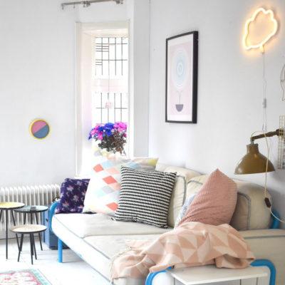 Luz de neon – nube – amarillo – cuarto infantil – iluminación niños – cloud – Liderlamp
