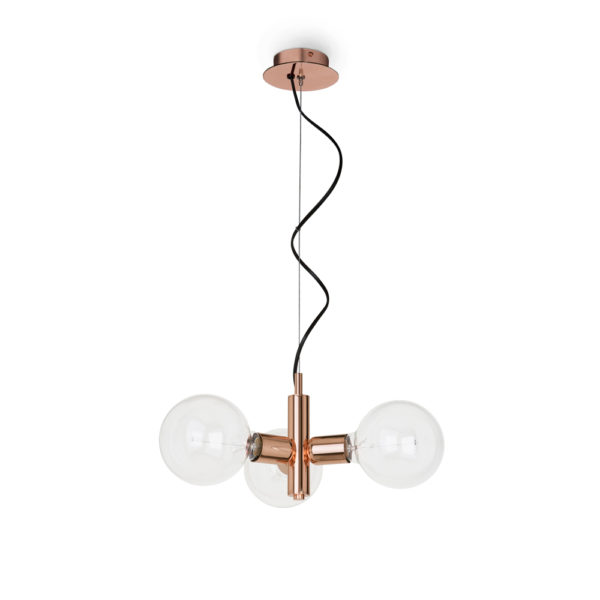 Colgante Garland – 3 luces – 6979 – – Estilo retro – vintage – bombilla antigua – Massmi – Liderlamp – Diseño minimalista – Lámparas online – Zaragoza – ilumina tus sueños