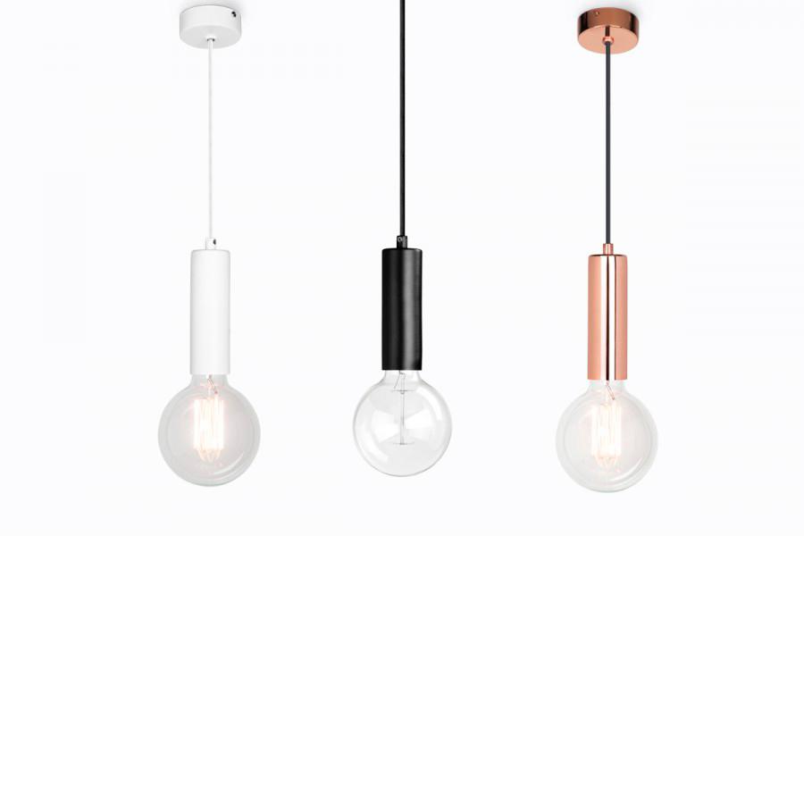 Colgante garland varios colores liderlamp l mparas - Lamparas colgantes minimalistas ...