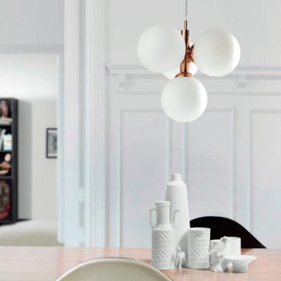 Colgante de cuatro luces - colección buble- 6139 - Massmi - Decoración - iluminación - lámparas online - Liderlamp - Ilumina tus sueños - Zaragoza (1)