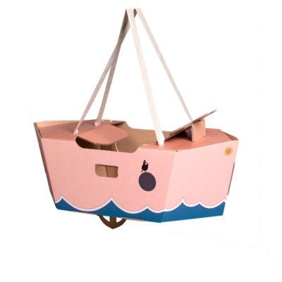 Disfraz barco – barco de cartón – barco rosa – Mister Tody – Cosplay – Carnaval – Juegos – Cumpleaños infantil – Liderlamp – Regalo niños – Ilumina tus sueños (2)