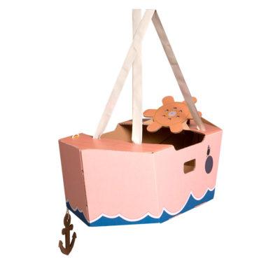 Disfraz barco – barco de cartón – barco rosa – Mister Tody – Cosplay – Carnaval – Juegos – Cumpleaños infantil – Liderlamp – Regalo niños – Ilumina tus sueños (5)