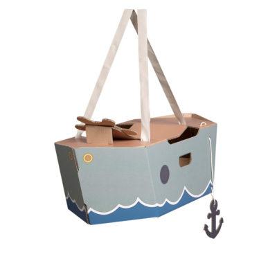 Disfraz barco – barco de cartón – barco verde – Mister Tody – Cosplay – Carnaval – Juegos – Cumpleaños infantil – Liderlamp – Regalo niños – Ilumina tus sueños (4)