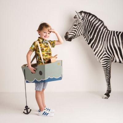Disfraz barco - barco de cartón - barco verde - Mister Tody - Cosplay - Carnaval - Juegos - Cumpleaños infantil - Liderlamp - Regalo niños - Ilumina tus sueños (6)