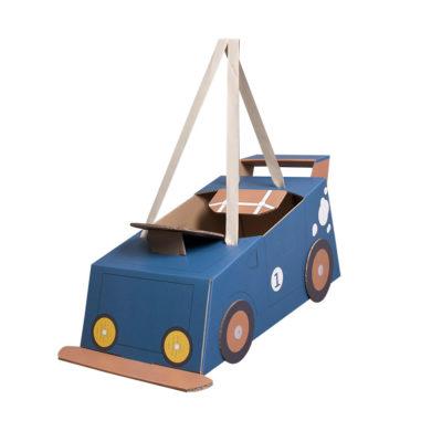 Disfraz coche – coche de cartón – coche azul – Mister Tody – Cosplay – Carnaval – Juegos – Cumpleaños infantil – Liderlamp – Regalo niños – Ilumina tus sueños (5)