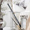 Monograph – House Doctor – Cesta de metal – cesta blanca – estilo nórdico – Mggl070 – Liderlamp – Ilumina tus sueños (3)