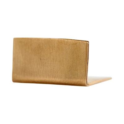 Monograph - cardhorder - sujeta papeles - sujeta tarjetas - latón - Sp0750 - House Doctor - Liderlamp (2)