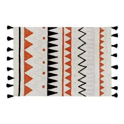 Alfombra Azteca - Natural terracota - Etnico - Liderlamp (8)