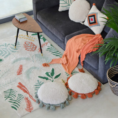 Alfombra – Botanic Plants – Hecha a mano – tropical – Liderlamp (12)