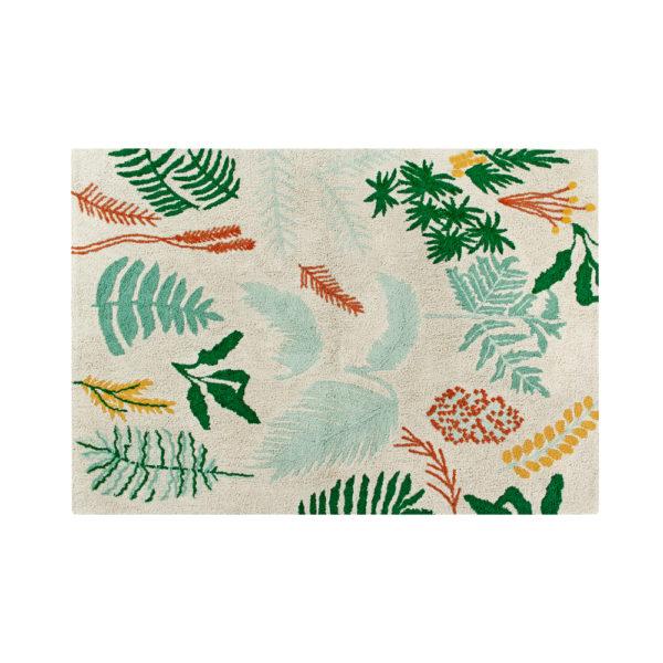 Alfombra - Botanic Plants - Hecha a mano - tropical - Liderlamp (1)