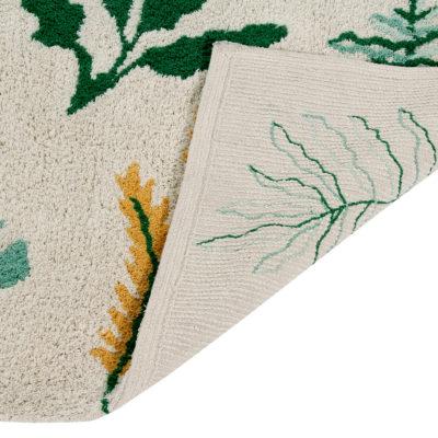 Alfombra – Botanic Plants – Hecha a mano – tropical – Liderlamp (4)