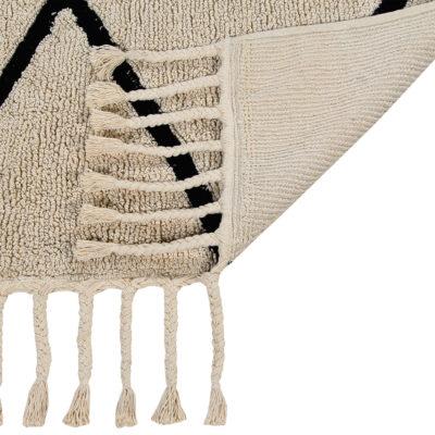 Alfombra bereber beige – rombos – Liderlamp (12)