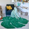 Alfombra – hoja de monstera – decoración tropical – greenery – Liderlamp (12)