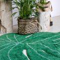 Alfombra – hoja de monstera – decoración tropical – greenery – Liderlamp (9)