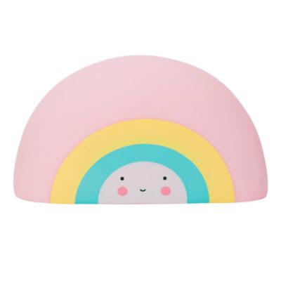 Juguete para el baño -arcoiris – A Little Lovely Company – Liderlamp (1)