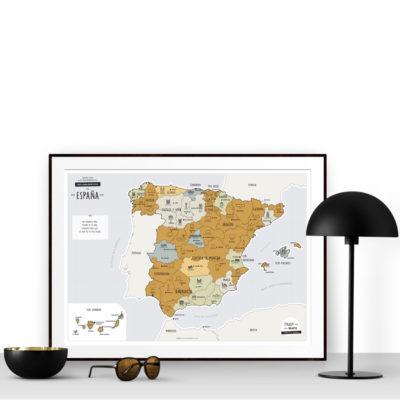 Mapa rascable - españa - regalos viajeros - Enjoy maps - Liderlamp (4)