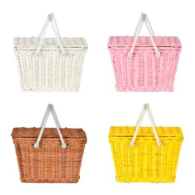 Cesta de picnic - niños - juguete - almacenaje - Olli Ella - Liderlamp (1)