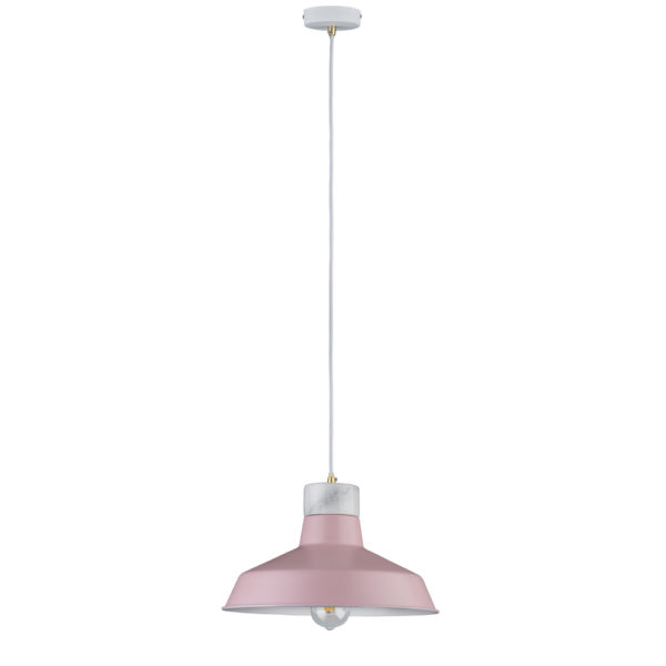 Colgante Disa – Rosa empolvado – mármol – Liderlamp