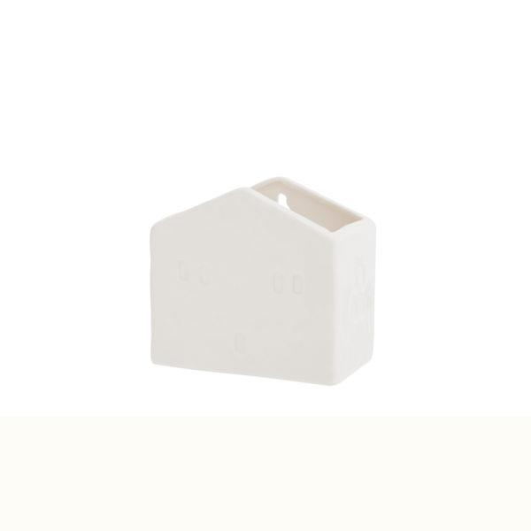 casita de cerámica - almacenaje - colgador - Liderlamp