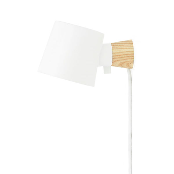 Aplique Rise – blanco – Normann Copenhague – Liderlamp (2)