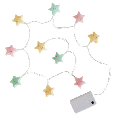 Guirnalda de luz - estrellitas multicolor - A little lovely company - Liderlamp (2)