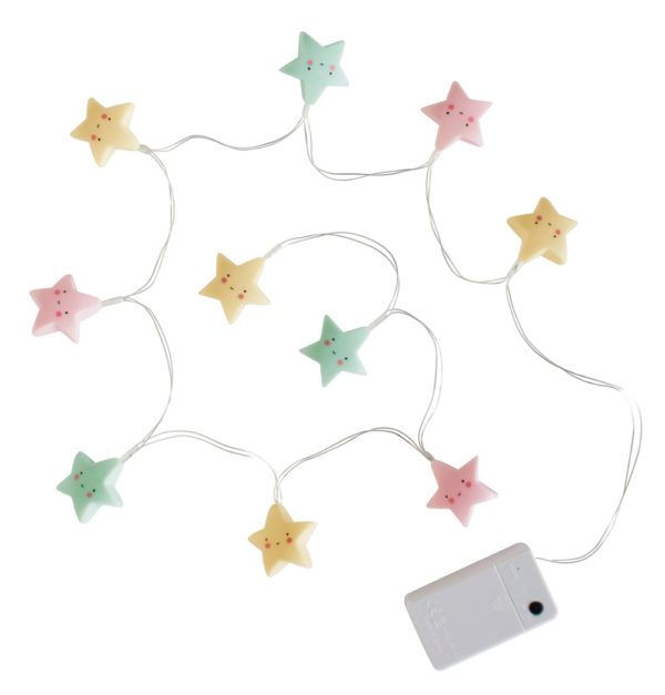Guirnalda de luz – estrellitas multicolor – A little lovely company – Liderlamp (2)