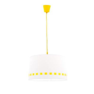 Lámpara colgante lacito – rosa y amarillo – Fabrilamp – Liderlamp (2)