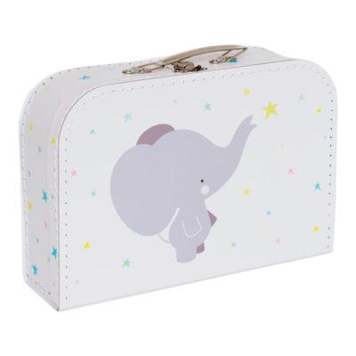 Maletín elefante - cartón reciclado - ilustración - Liderlamp (1)