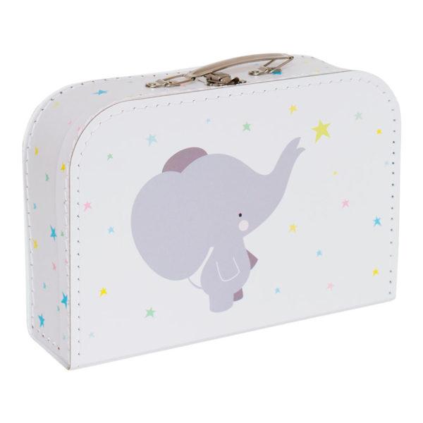 Maletín elefante – cartón reciclado – ilustración – Liderlamp (1)