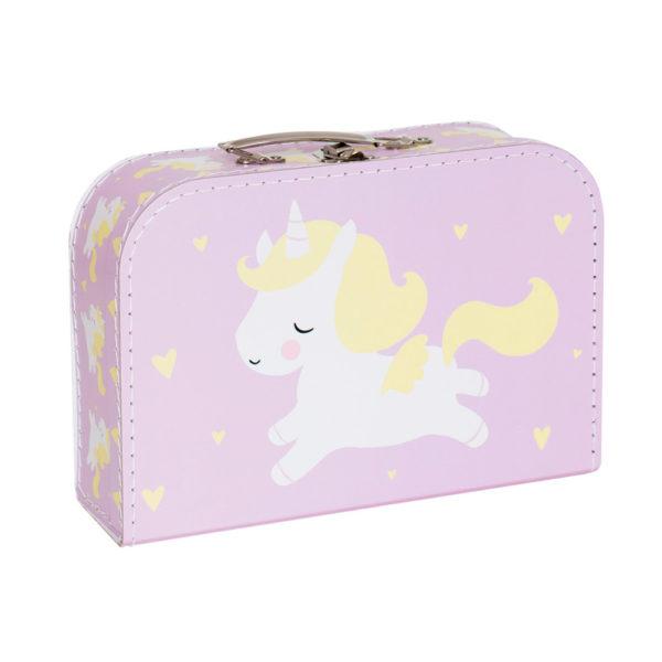 Maletín unicornio – cartón reciclado – ilustración – Liderlamp (2)