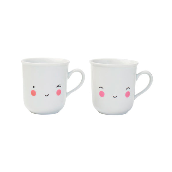 SET DE TAZAS DE TÉ – HAPPY – PORCELANA – FIESTA DEL TÉ – A LITTLE LOVELY COMPANY – LIDERLAMP (1)