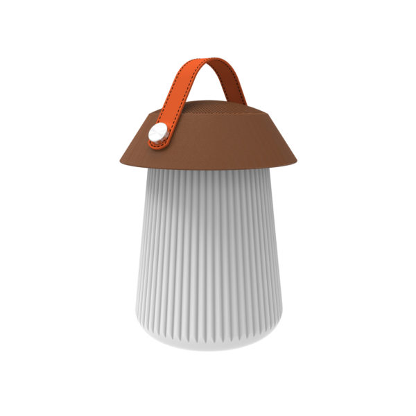 Altavoz y lámpara portatil Funghi – Mantra – Liderlamp (2)
