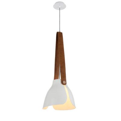 Colgante Swiss - metal y cuero - Mantra - Liderlamp (3)