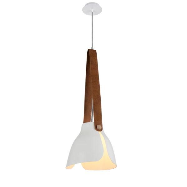 Colgante Swiss – metal y cuero – Mantra – Liderlamp (2)