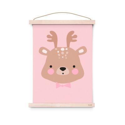 Lámina decoracíon infantil - Poster - Ms. Deer - Liderlamp (2)